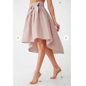 Mauve Hi Low Skirt!